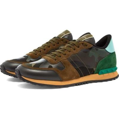 ヴァレンティノ Valentino メンズ スニーカー シューズ・靴 rockrunner sneaker Army Green/Brushwood Camo