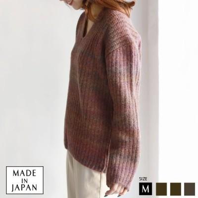 トップス(952-65511)レディース 日本製 【Yamagata Knit】アルパカニット  Buyer's select  【2019 A/W】▼