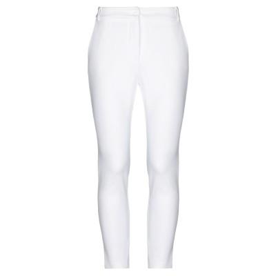 KATE BY LALTRAMODA パンツ ホワイト 44 レーヨン 66% / ナイロン 29% / ポリウレタン 5% パンツ