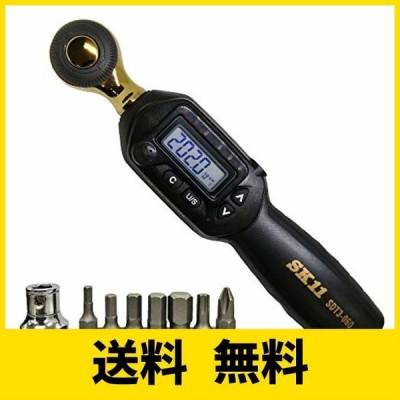 SK11(エスケー11) デジタルトルクレンチ ソケットセット 限定カラー SDT3-060G-SET ブラック×ゴールド