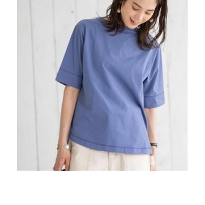 多機能付きUSAコットンプレーティング5分袖Tシャツ#