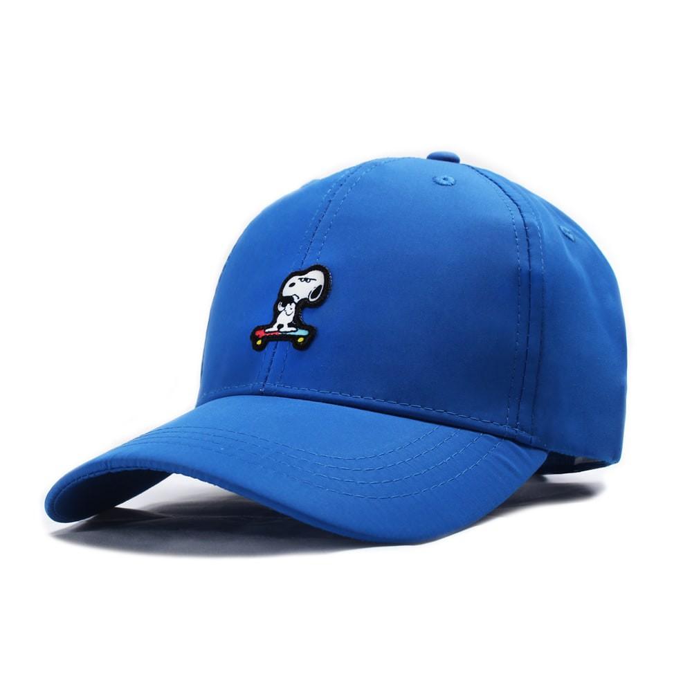 【英國 BAKER STREET 貝克街】尼龍涼感棒球帽 - 史努比