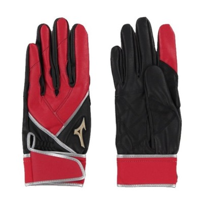 ミズノ 野球 バッティング用手袋 ゼロスペース ZeroSpace 1EJEA18262 : レッド MIZUNO
