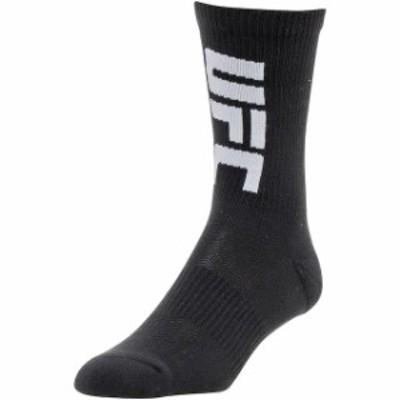 Reebok リーボック スポーツ用品  Reebok UFC Black Three-Pack Crew Socks