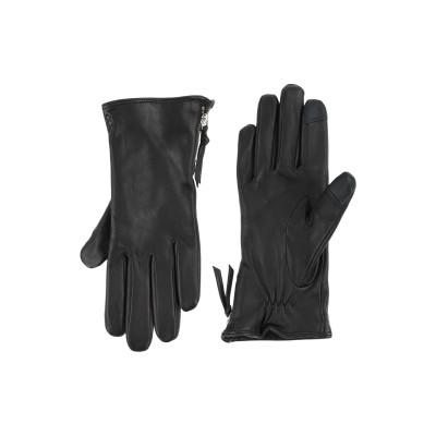 ROYAL REPUBLIQ 手袋 ブラック 7 革 100% 手袋