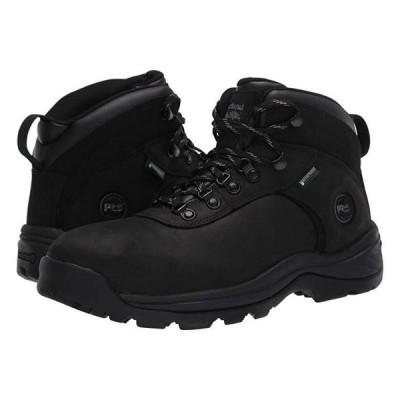 """ティンバーランド Flume 6"""""""" Steel Safety Toe Waterproof メンズ ブーツ Black"""