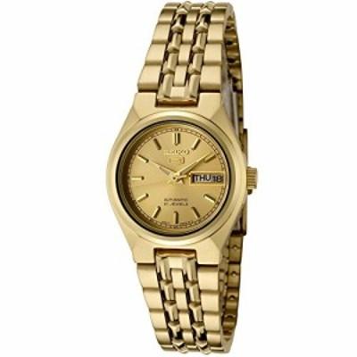 [セイコー]Seiko 腕時計 5 Automatic Gold Dial GoldTone Stainless Steel (中古品)