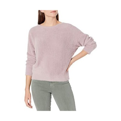 NIC+ZOE Women's It's A Fluff Sweater, Plum Frost, Small並行輸入品 送料無料