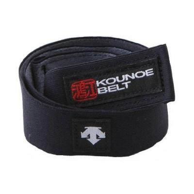 デサント KOUNOE BELT (DAT8350) 色 : ブラック サイズ : S