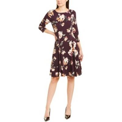 ジェシカハワード レディース ワンピース トップス Jessica Howard A-Line Dress purple