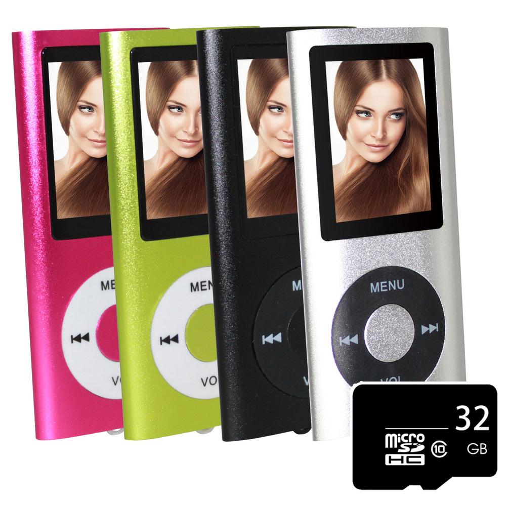超薄炫彩1.8吋插卡式MP3 MP4隨身聽