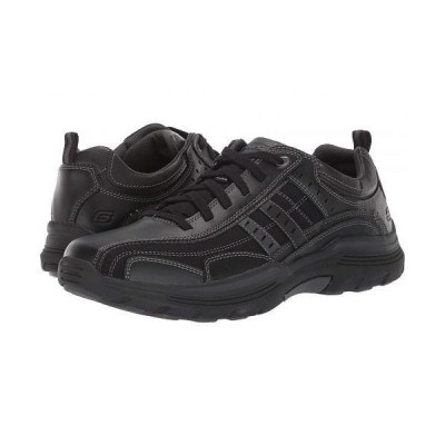 SKECHERS スケッチャーズ メンズ 男性用 シューズ 靴 スニーカー 運動靴 Relaxed Fit Expended - Manden - Black