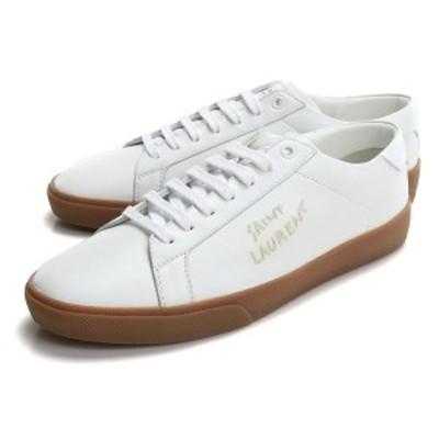 【新品】 サンローラン SAINT LAURENT メンズ スニーカー ローカット 610685 00N00 9030 ホワイト系 bos-14 shoes-01 メンズ