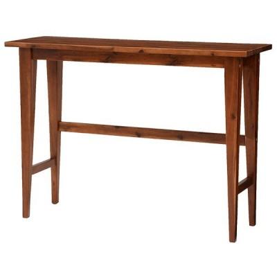 コンソールテーブル(VCT-7253)ASIAN UMBER ハイテーブル バーテーブル カフェテーブル バーカウンター