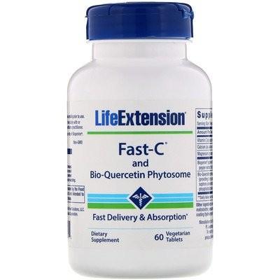 Fast-Cおよびバイオケルセチンフィトソーム、植物性タブレット60粒