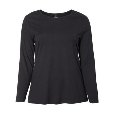 レディース 衣類 トップス Just My Size - Women's Long Sleeve T-Shirt - MF Tシャツ