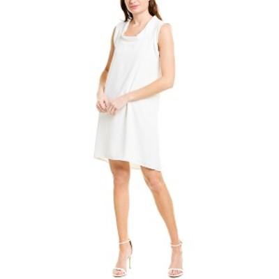 トリーナターク レディース ワンピース トップス Trina Turk Double Rainbow Shift Dress whitewash