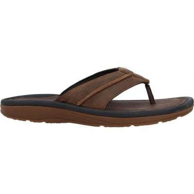 ティンバーランド TIMBERLAND メンズ ビーチサンダル シューズ・靴 flip flops Brown