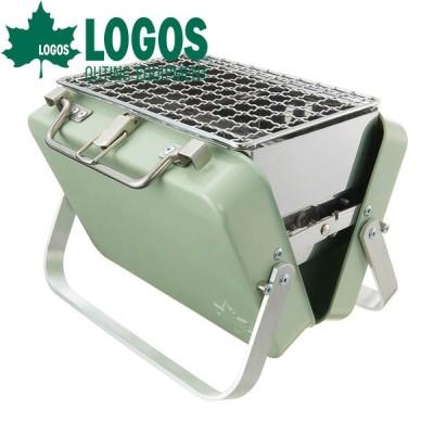 ロゴス LOGOS グリルアタッシュmini バーベキューコンロ バーベキューグリル ステンレス 軽量 BBQ バーベキュー 焼肉 焼き魚 調理器具 bbqコンロ グリル