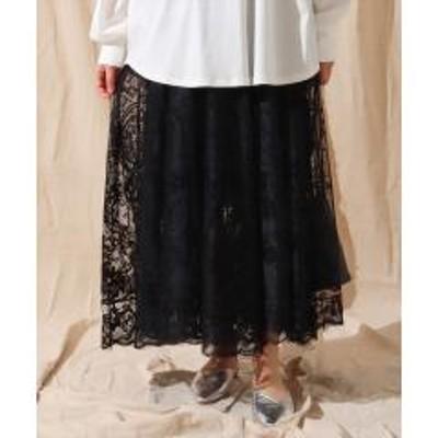 ANAP(アナップ)カーテンクロスレースサーキュラースカート【お取り寄せ商品】