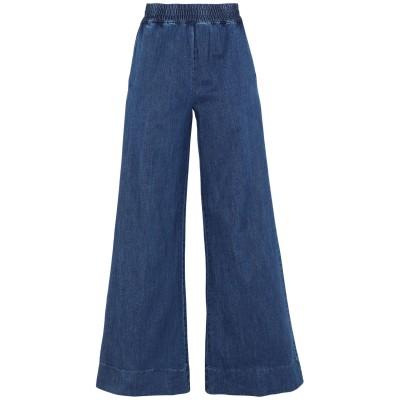 NICLA ジーンズ ブルー S コットン 96% / 金属繊維 3% / ポリウレタン 1% ジーンズ