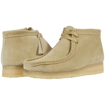 クラークス Wallabee Boot レディース ブーツ Maple Suede 1