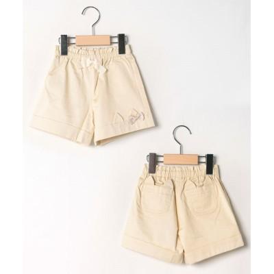 【シャーリーテンプル】 ねこちゃんショートパンツ(80~90cm) キッズ ベージュ 80 ShirleyTemple