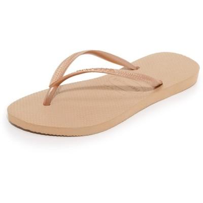 ハワイアナス Havaianas レディース サンダル・ミュール シューズ・靴 Slim Flip Flops Rose Gold