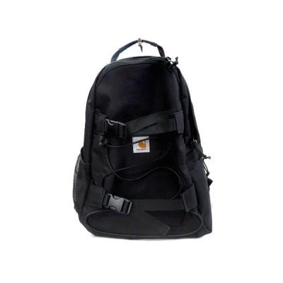 【中古】美品 カーハート carhartt WIP KICKFLIP BACKPACK キックフリップ バックパック リュック バッグ 鞄 ロゴ スケートボード I006288 黒 ブラック