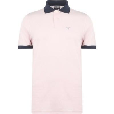 バブアー Barbour メンズ ポロシャツ トップス Lynton Polo Shirt Pink PI
