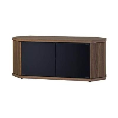 朝日木材加工 テレビ台 RACINE 42型 幅100cm ブラウン キャスター付き コーナー対応 RCA-1000AV-CR