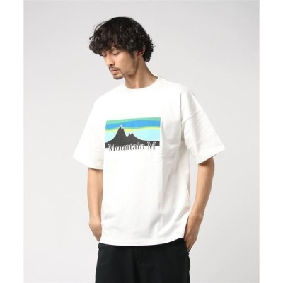 "tシャツ Tシャツ SHORT-SLEEVE  TEE ""MOUNTAIN.M"