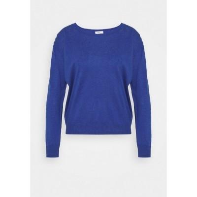 クローズド ニット&セーター レディース アウター WOMENS  - Jumper - cobalt blue