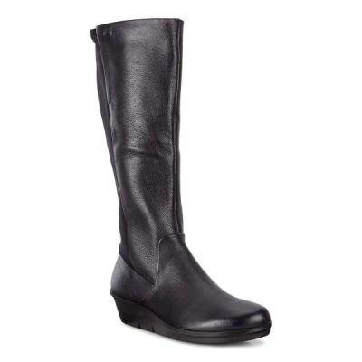 エコー ブーツ Skyler GTX Tall Boot レディース BLACK/BLACK 22.5 cm 2.5E