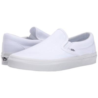 ヴァンズ Vans メンズ スリッポン・フラット シューズ・靴 Classic Slip-On(TM) Core Classics True White (Canvas)