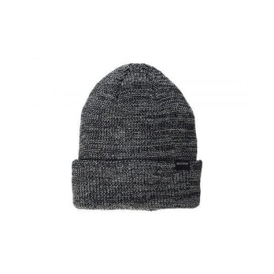 Nixon ニクソン メンズ 男性用 ファッション雑貨 小物 帽子 ビーニー ニット帽 Thomas R Beanie - Black/Gray