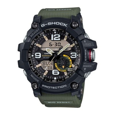 カシオ G-SHOCK マスターオブG マッドマスター ツインセンサー クロノグラフ メンズ GG-1000-1A3JF