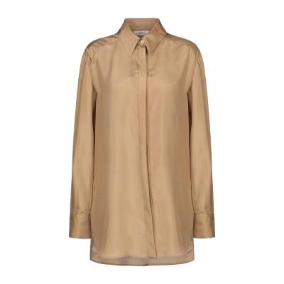 マウロ グリフォーニ MAURO GRIFONI シャツ カーキ 42 シルク 100% シャツ