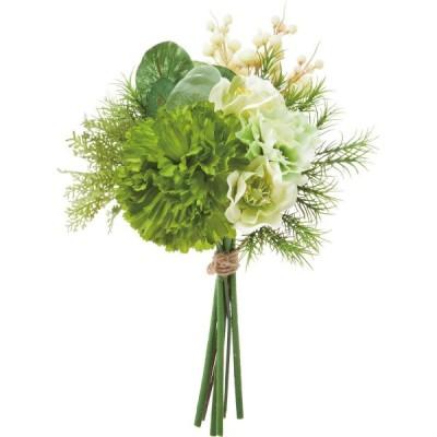 造花 YDM グリーンフラワーミックスバンドル グリーン FB-2516-GR 造花葉物、フェイクグリーン その他の造花グリーン