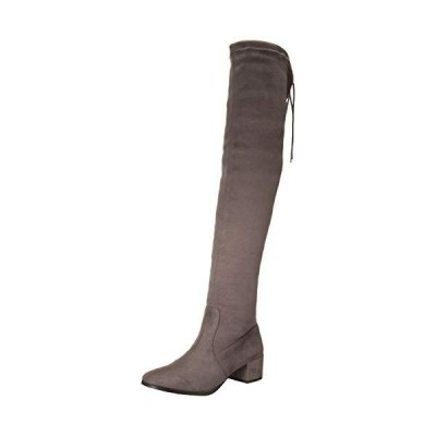 Chinese Laundry Women's Knee Boot, Gunmetal, 6