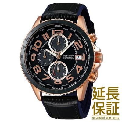 Angel Clover エンジェルクローバー 腕時計 MOS44PBK-BK メンズ MONDO SOLAR モンドソーラー クロノグラフ