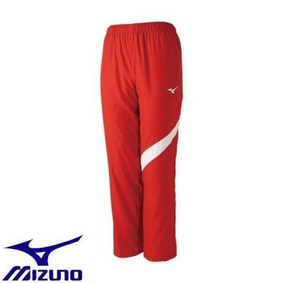 ◆◆ <ミズノ> MIZUNO トレーニングクロスパンツ[ユニセックス] N2JD9001 (62:チャイニーズレッド)