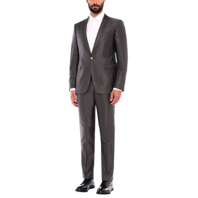 GIAN BERTONE スーツ スチールグレー 54 ウール 70% / シルク 30% スーツ