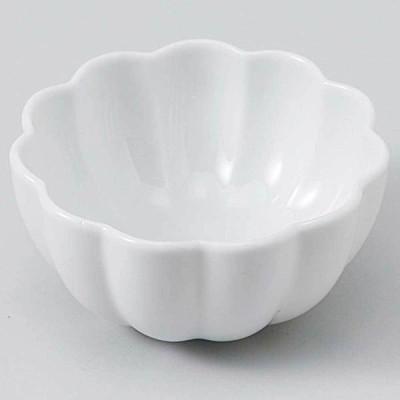 和食器 小鉢 小付/ 白磁 菊型珍味 /珍味鉢 陶器 業務用 家庭用 Small sized Bowl