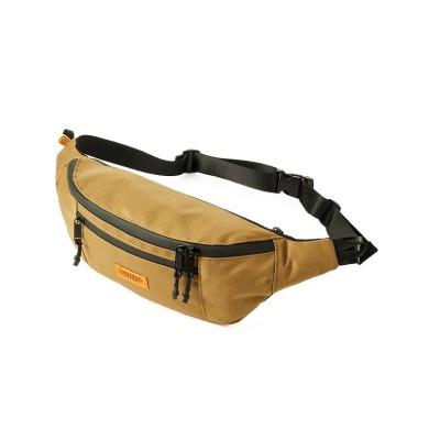【カバンのセレクション】 ユニバーサルオーバーオール ウエストバッグ ボディバッグ メンズ レディース ブランド 横型 UNIVERSAL OVERALL UVO-088 ユニセックス ダーク ベージュ フリー Bag&Luggage SELECTION