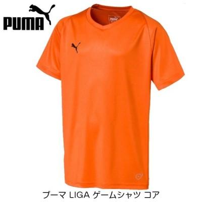 [お取り寄せ] プーマ LIGA ゲームシャツ コア [ゴールデンポピー]