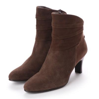 シューズラウンジ shoes lounge ショートブーツ 2023484DBRS SNOW (ダークブラウン)
