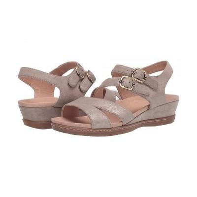 Dansko ダンスコ レディース 女性用 シューズ 靴 サンダル Angela - Sand Metallic