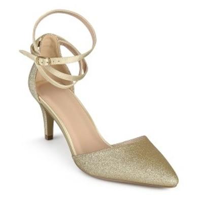 ジャーニーコレクション レディース パンプス シューズ Women's Luela Pumps Gold