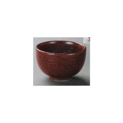 和食器 そば丼 どんぶり 赤結晶マグマ京型4.5丼 /大きさ11.4×7.2cm 重量296g